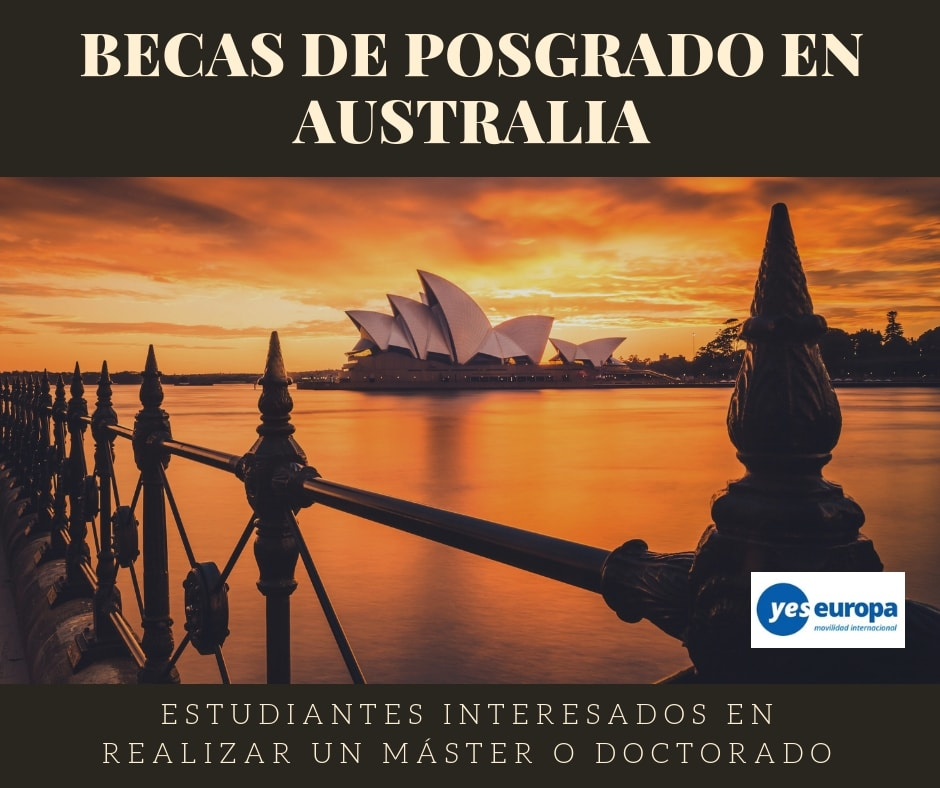 Becas de Posgrado en Australia