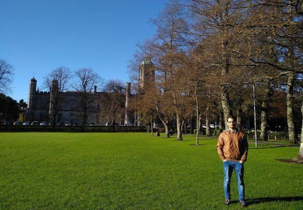Antonio está disfrutando de su voluntariado en Irlanda