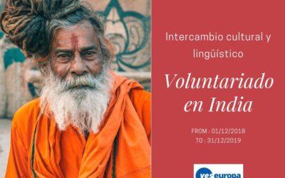 Intercambio cultural en India con un programa de voluntariado