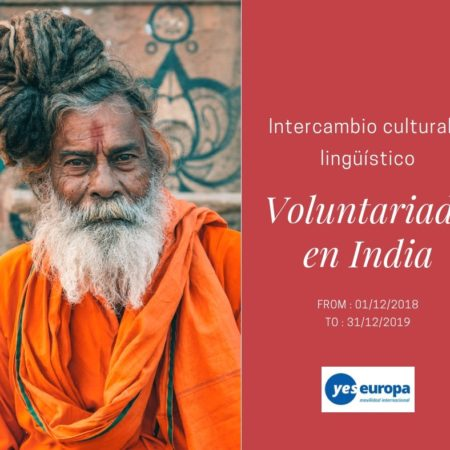 Intercambio cultural en India con un programa de voluntariado
