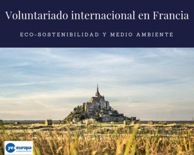Oferta de Voluntariado internacional en Francia en sostenibilidad ambiental