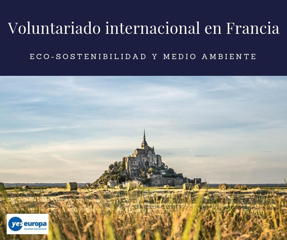 Oferta de Voluntariado internacional en Francia