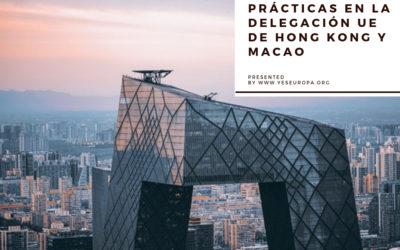 Prácticas en la delegación UE de Hong Kong y Macao