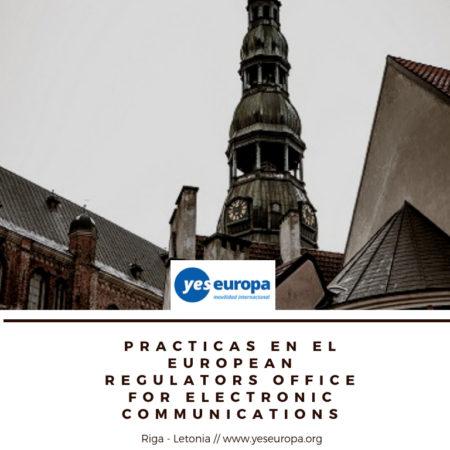 Practicas en Riga en un organismo Europeo