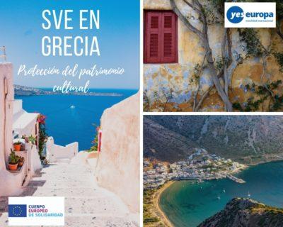 SVE en Grecia en preservación y protección del patrimonio cultural