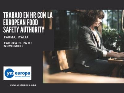 Trabajar en HR en la European Food Safety Authority