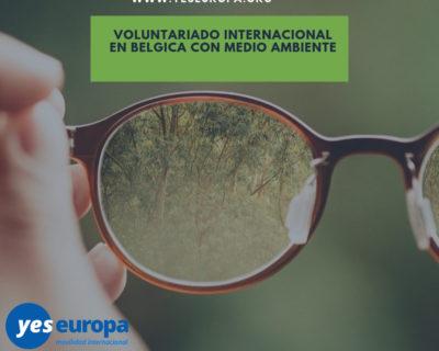 Voluntariado con medio ambiente Bélgica