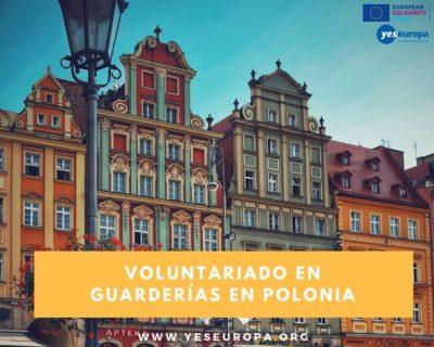 Voluntariado con niños en guarderías en Polonia