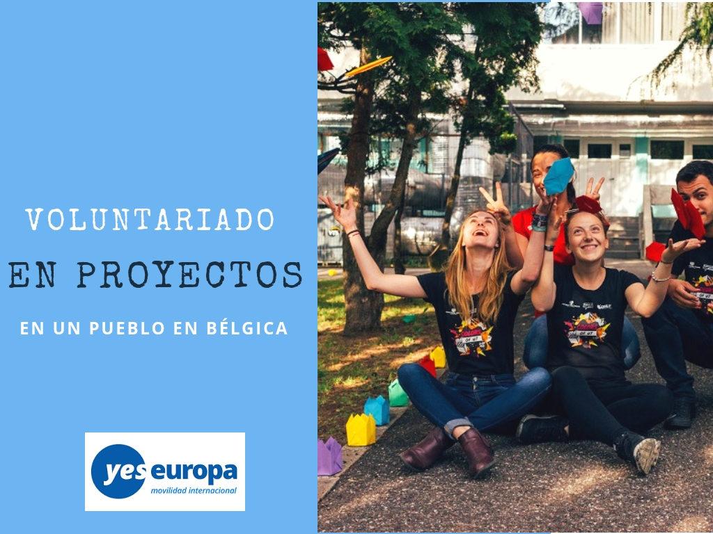 Voluntariado en Bélgica en proyectos