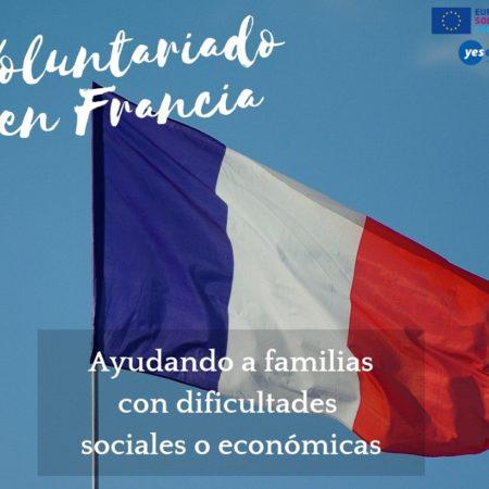 Voluntariado en Francia con familias con dificultades
