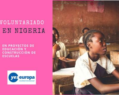 Voluntariado internacional en Nigeria en educación
