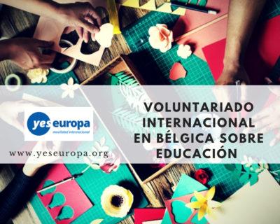 Voluntariado internacional en educación en Bélgica