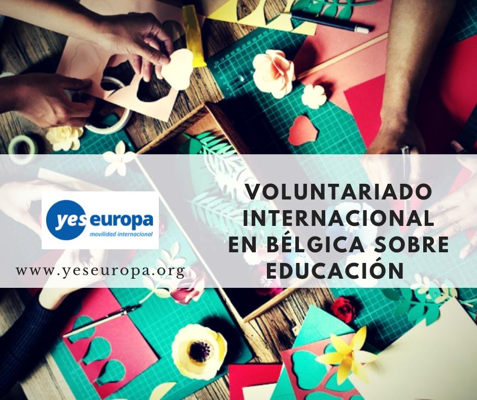 Voluntariado internacional en educación e Bélgica