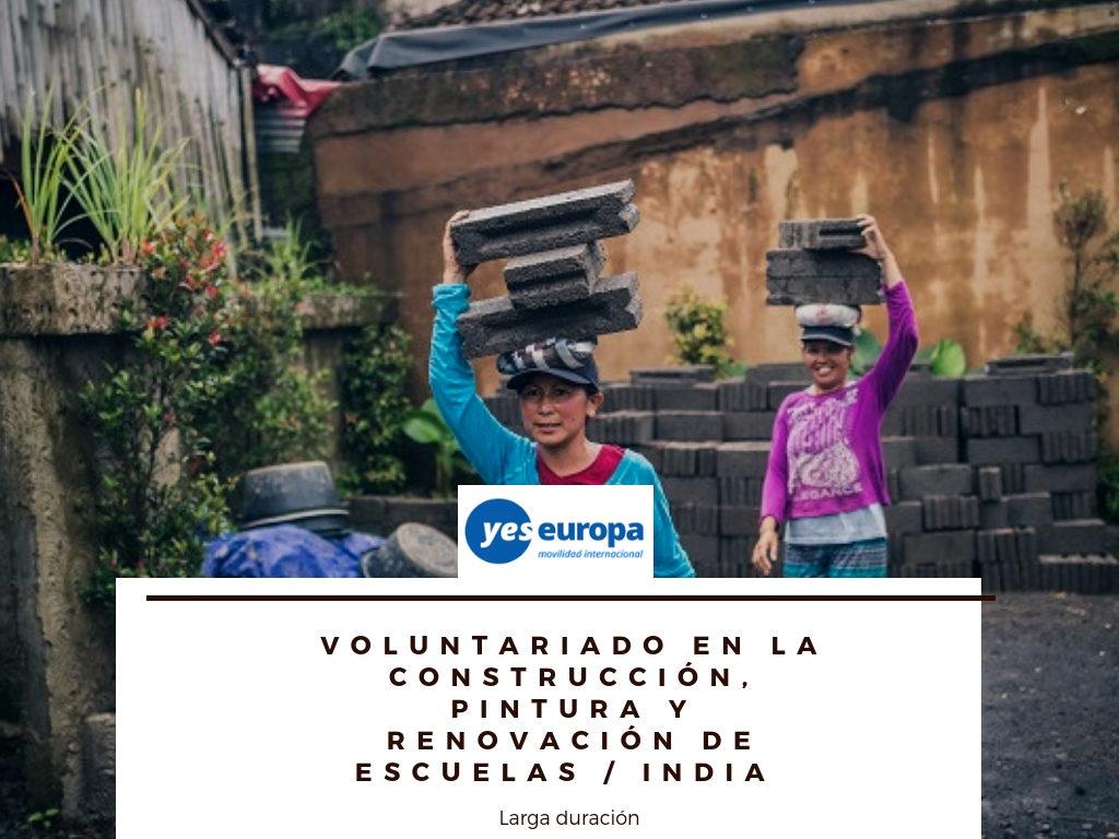 Voluntariado larga duración en India