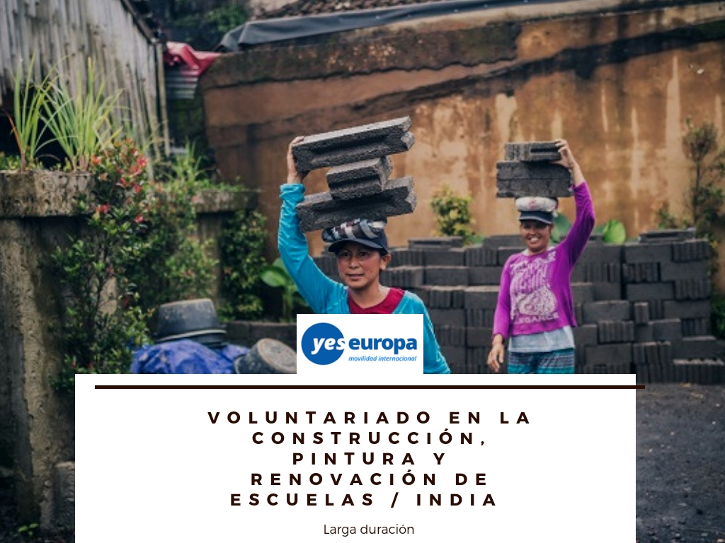 Voluntariado larga duración en India