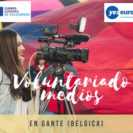 Voluntariado todo pagado en Bélgica sobre comunicación