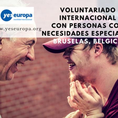 Voluntariado personas con necesidades especiales en Bruselas , Bélgica