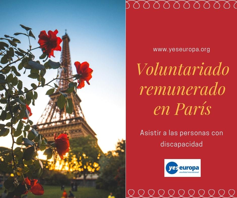 Voluntariado internacional remunerado en París