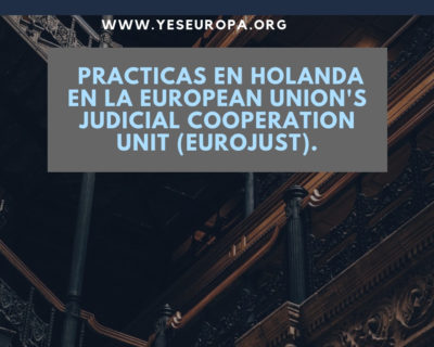 Practicas en Holanda en instituciones de la UE