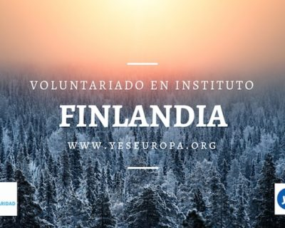 Voluntariado en Finlandia en instituto