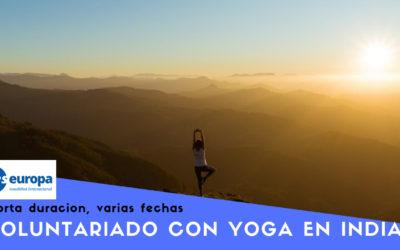 Voluntariado con Yoga en India corta duración