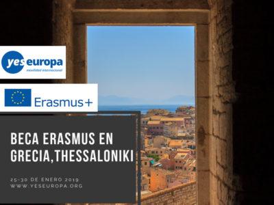 Becas Erasmus+ en Grecia sobre youthworking