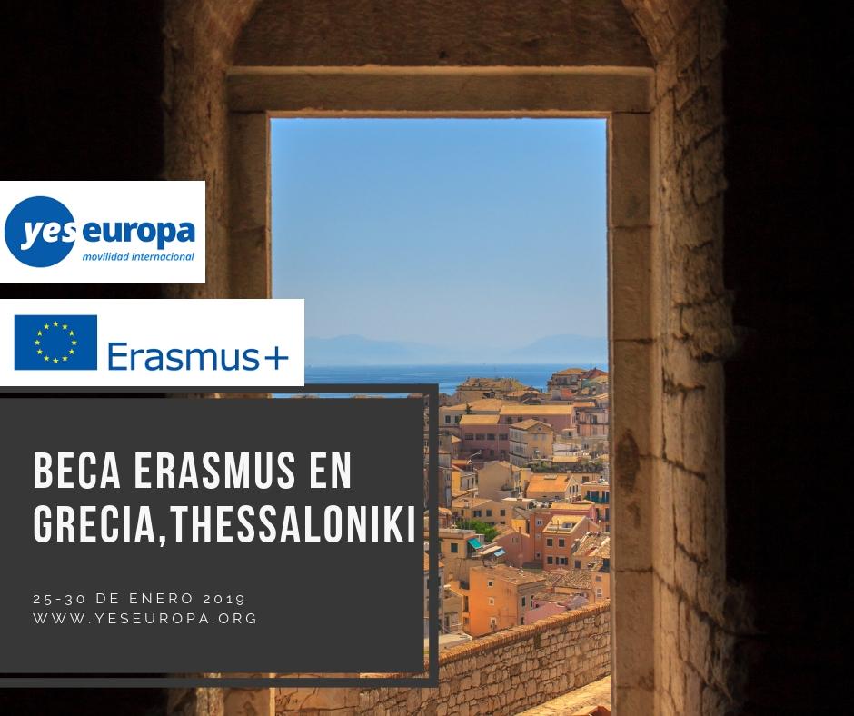 Becas erasmus+ en Grecia