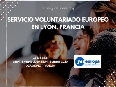 Cuerpo Europeo Solidaridad en Francia de 12 meses