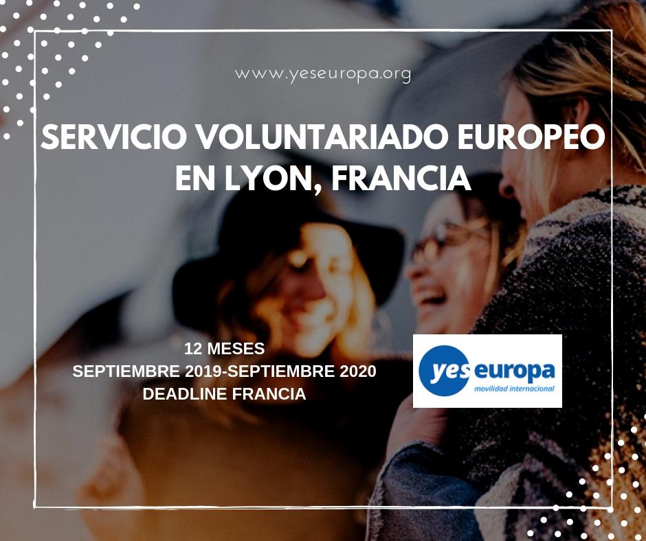 Cuerpo Europeo Solidaridad en Francia