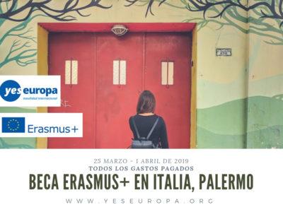 Becas erasmus+ en Palermo (Italia) sobre Youthworking