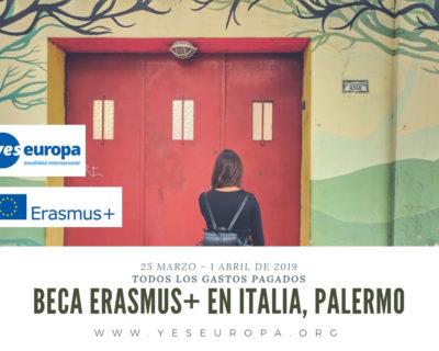 Becas erasmus+ en Palermo (Italia) sobre teatro