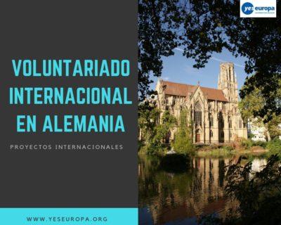 Oferta de Voluntariado en Alemania en diferentes proyectos internacionales