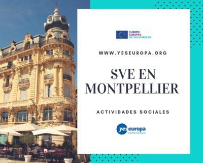 SVE en Montpellier en actividades sociales