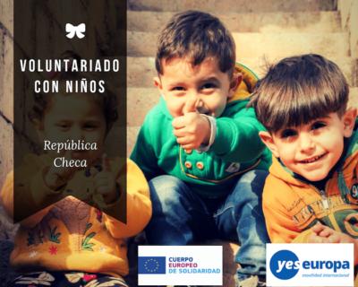 Voluntariado con niños en República Checa