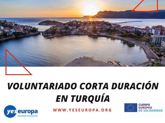 Voluntariado corta duración Turquía – Yes Europa