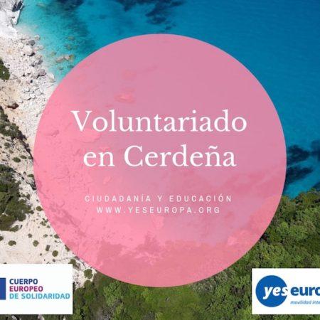 Voluntariado Cerdeña sobre educación y ciudadanía