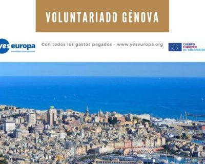 Ser voluntario/a en una cooperativa de Génova, Italia