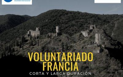 Voluntariado corta y larga duración en Francia