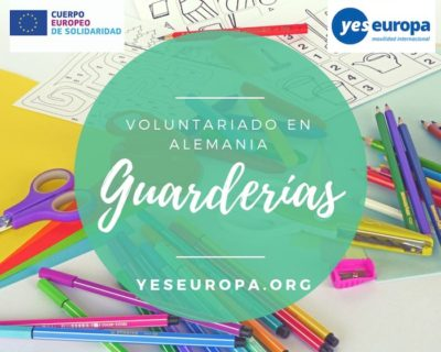 Voluntariado Alemania guarderías con todo pagado