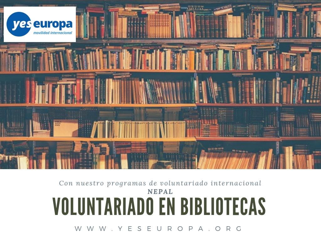 Voluntariado en Nepal bibliotecas