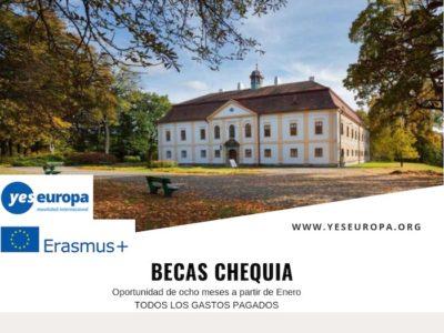 Becas Chequia para jóvenes líderes