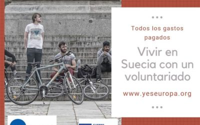 Vivir en Suecia una experiencia de voluntariado con jóvenes