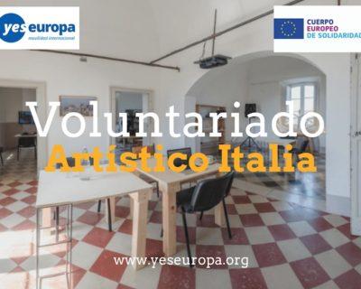 Voluntariado artístico en Italia (Lecce)