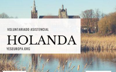 Voluntariado Holanda asistencial de un año