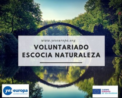 Voluntariado Escocia en protección naturaleza (Reino Unido)