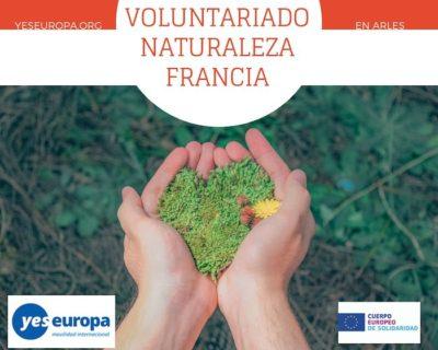 Voluntariado europeo medioambiente en Francia (Arles)