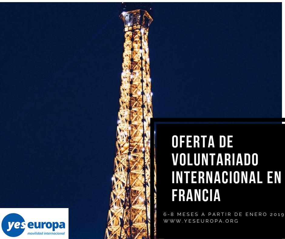 voluntariado internacional en Francia