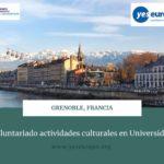 Voluntariado universidad en actividades culturales en Francia