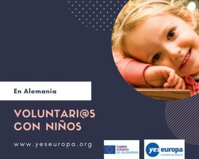 Se buscan voluntarios con niños en Alemania