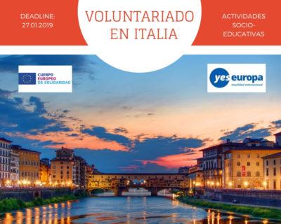 CES en Italia (Prato) en actividades socio-educativas